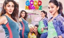 Good Newwz Posters: Akshay , Diljit  squeeze in between baby-bumps