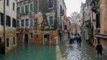 Over 80% of Venice under-water