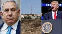 Benjamin Netanyahu, West Bank, Donald Trump