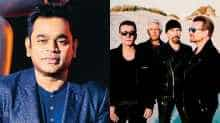 File images of AR Rahman and U2