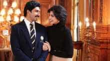 Ranveer Singh and Deepika Padukone as Kapil and Romi Dev