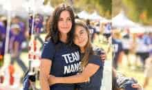 Courtney cox with daughter Coco Arquette