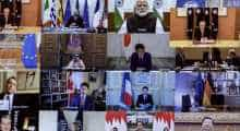 G20 video conference