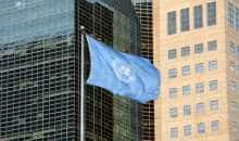 United Nations flag (file photo)