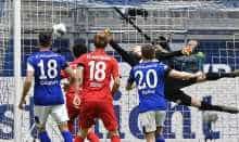 Football: German Bundesliga results
