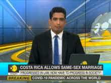 Costa Rica legalizes same-sex marriage: Couples hold private ceremonies amid COVID-19 pandemic