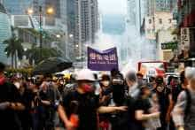 China Hong Kong unrest