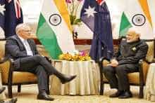 Narendra Modi and Scott Morrison
