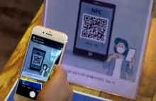 South Korea customers have to use a QR code app to log entry to high-risk areas