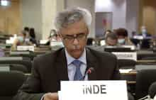 India's envoy to UN bodies in Geneva Rajiv Kumar Chander