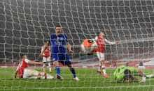 Rodgers hopes late leveller at Arsenal sparks Leicester revival