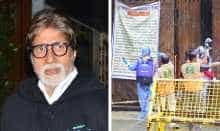 Amitabh Bachchan house sealed