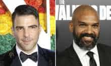 File photo of Zachary Quinto, Khary Payton