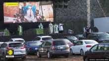 Church offers drive-in Mass services