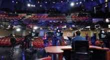 The set of 'Late Show'