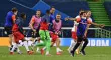 Leipzig beat Atletico to book historic meeting with PSG