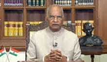 President  Kovind during his address to the nation on the eve of India's 74th Independence Day