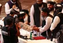 Taliban-Afghan peace talks