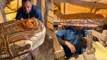 27 coffins buried 2,500 years ago