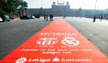 La Liga rolls out red carpet in New Delhi and multiple cities around the world to celebrate El Clasico showpiece