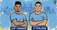 ISL 2020-21: Mumbai City FC sign young duo of Amey Ranawade and PC Rohlupuia