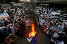 Protests in Pakistan