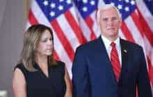 Mike Pence and his wife, Karen Pence