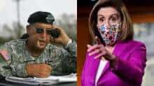 Nancy Pelosi and Russel Honore