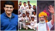 'Remarkable': From PM Modi to Ganguly - Team India lauded for scripting history against Australia