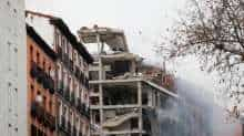 Explosion rocks central Madrid, one missing after building collapse