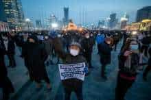 Protests in Mongolia