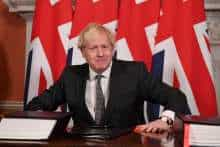 Britain PM Boris Johnson