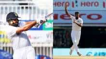Ashwin and Rohit Sharma jump in ICC Test Player Rankings after England win