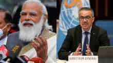 PM Narendra Modi and WHO chief Tedros Adhanom Ghebreyesus