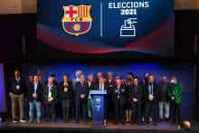 Barca given fresh start as Laporta elected new club president