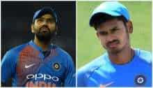 1st ODI: BCCI give update on Rohit Sharma and Shreyas Iyer's injury