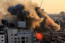 Israeli airstrikes (file photo)