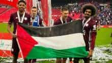 Leicester City players express support for Palestine after FA Cup win