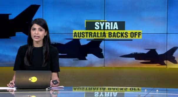 Australia suspends air missions over Syria (WION Gravitas)
