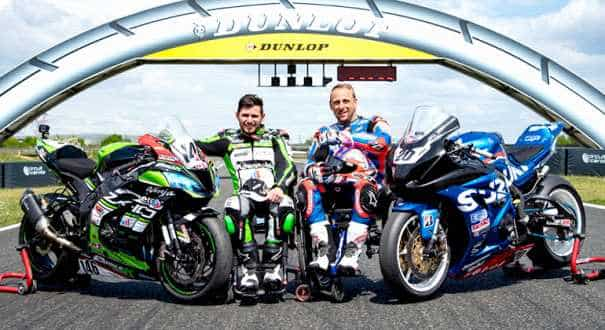 Disabilities no barrier for motorcyclists on the race track
