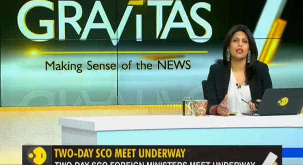 Gravitas: Sushma Swaraj addresses SCO meet