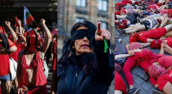 'The rapist is you': Chile protest anthem against sexual violence goes global