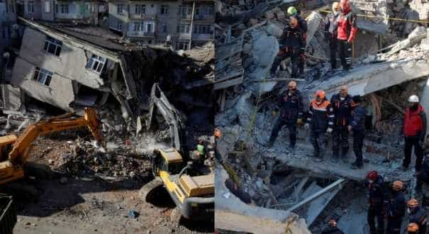 Dozens pulled from rubble as Turkey quake toll hits 35