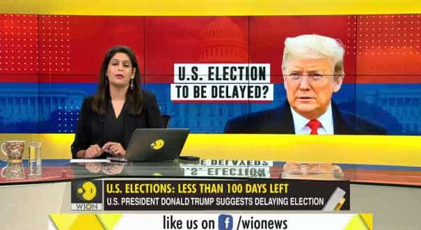 Gravitas: Race to the White House, Can the US election be delayed?