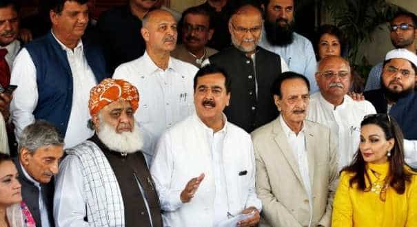 Pakistan's opposition parties alliance