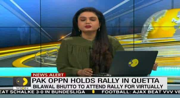 Pakistan: Opposition holds rally in Quetta, Nawaz Sharif to address today in rally