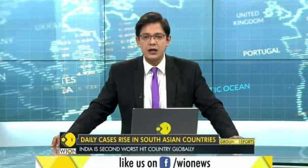 COVID-19: Daily cases rise in South Asian countries