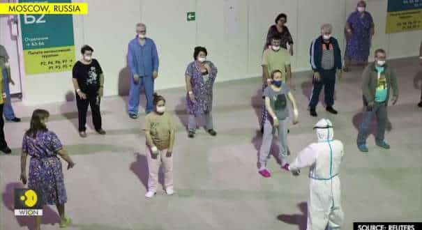Russian patients practice Chinese martial art to recover from COVID