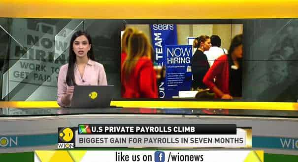 World Business Watch: US private payrolls climb by 742,000 as labor market improves