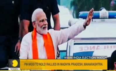Prime Minister Narendra Modi will hold two rallies in Madhya Pradesh on Friday ahead of the first phase of polling in the state on April 29. M
